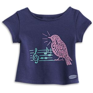 Tenney's Concert Tee for 18-inch Dolls