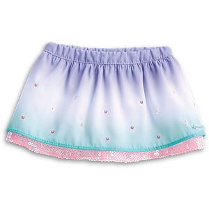 Ombre Waves Skirt for 18-inch Dolls