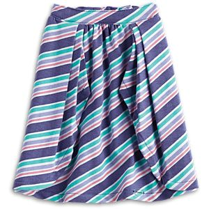 Seashore Stripe Skirt for 18-inch Dolls