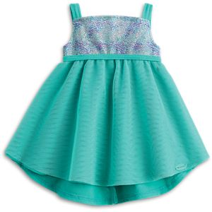 Blue Sea Dress for 18-inch Dolls