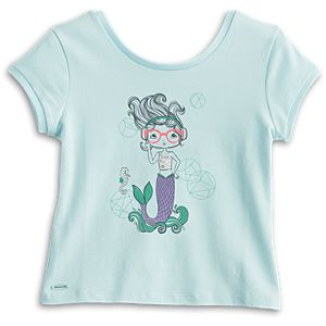 Mermaid Tee for Girls