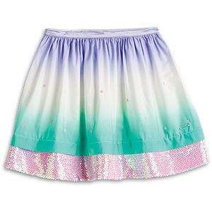 Ombre Waves Skirt for Girls