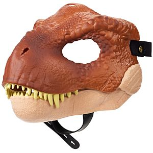 Jurassic World Tyrannosaurus Rex Mask with Opening Jaw, Texture and Color