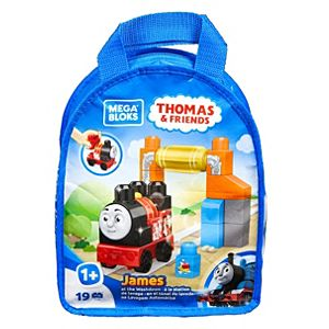 Mega Bloks® Thomas & Friends™ James at the Washdown Building Set