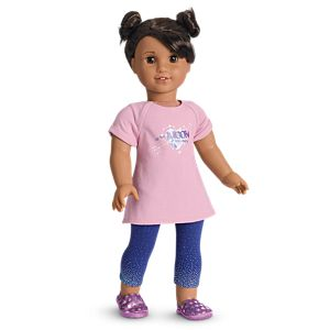 Luciana's PJs for 18-inch Dolls