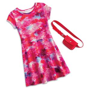Galaxy Dress For Girls