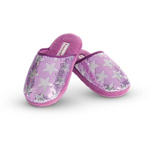 Sparkling Star Slippers for Girls