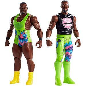 WWE® Tough Talkers™ Total Tag Team Big E™ & Kofi Kingston™ 2-Pack