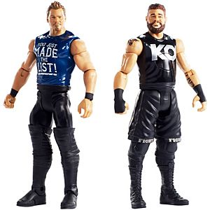 WWE® Tough Talkers™ Total Tag Team Kevin Owens™ & Chris Jericho™ 2-Pack