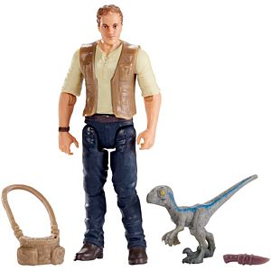 "Jurassic World Basic Figure Owen & Baby ""Blue"""