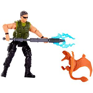 Jurassic World Basic Figure Mercenary & Dimorphodon