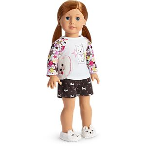 Coconut PJs for 18-inch Dolls