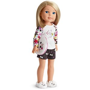 Coconut PJs for WellieWishers Dolls