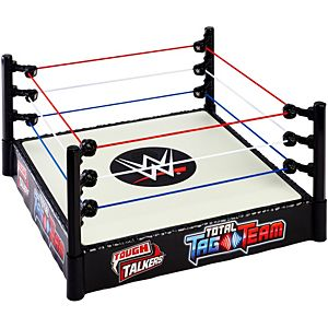 WWE® Tough Talkers™ Total Tag Team Interactive Ring™ Playset