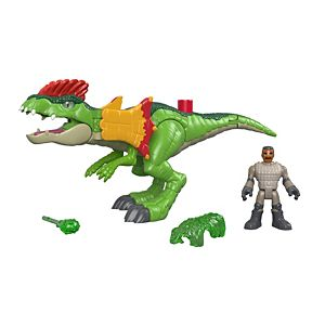 Imaginext® Jurassic World™ Dilophosaurus & Agent
