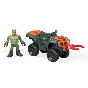 Imaginext® Jurassic World™ ATV & Technician