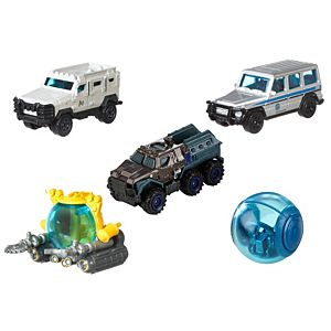Matchbox® Jurassic World Island Transport Team 5-Pack