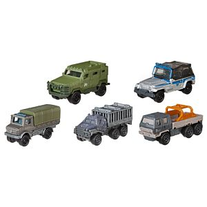 Matchbox® Jurassic World All-Terrain Fleet 5-Pack