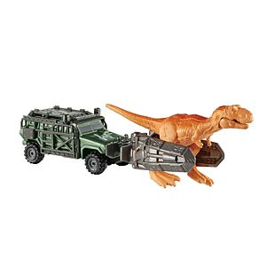 Matchbox®  Jurassic World Dino Transporters Tyranno-Hauler™ Vehicle And Figure