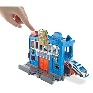 Hot Wheels® City Downtown Police Station Breakout™ Play Set