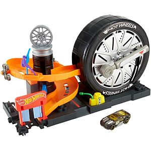 Hot Wheels® City Super Spin Tire Shop™  Play Set