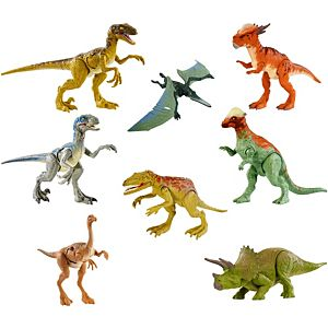 Jurassic World Battle Damage Action Figure Assortment