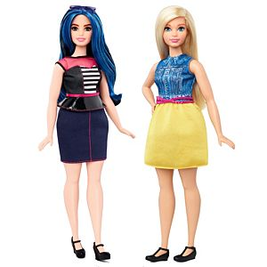 Barbie® Fashionistas® Curvy Doll 2-Pack Gift Set
