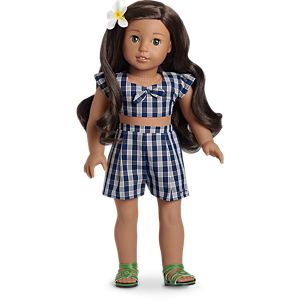 Nanea's Palaka Outfit for 18-inch Dolls