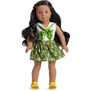 Nanea's Tropical Birthday Outfit for 18-inch Dolls
