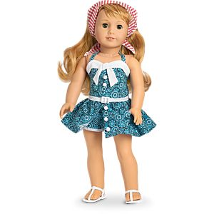 Maryellen's Vacation Playsuit for 18-inch Dolls