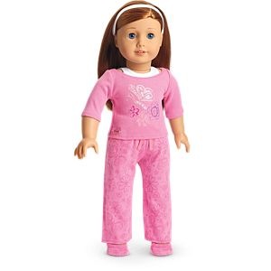 Pink Pajamas for 18-inch Dolls