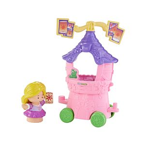 Disney Princess Parade Rapunzel & Pascal's Float by Little People®