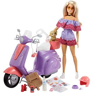 Barbie® Pink Passport™ Doll and Accessory