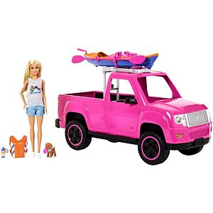 Barbie® Camping Fun™ Doll, Vehicle & Accessories