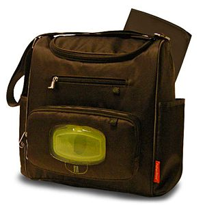 Deluxe Mini Cooler Bag with the FastFinder™ Pocket System (Brown)