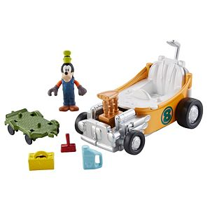 Disney Mickey and the Roadster Racers - Goofy's Tubster Transforming Playset