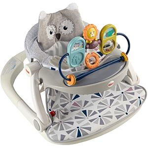 Premium Sit-Me-Up Floor Seat With Toy Tray