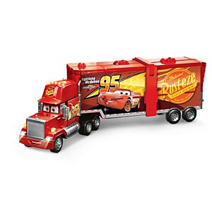 Disney Pixar Cars Super Track Mack Hauler & Playset