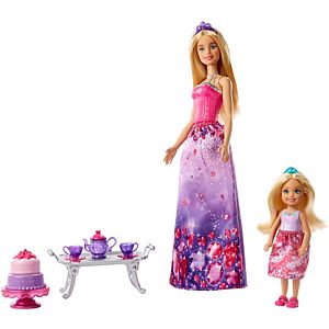Barbie® Dreamtopia Barbie and Chelsea Dolls and Accessories