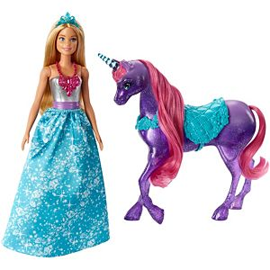Barbie® Dreamtopia Doll and Unicorn