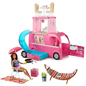 Barbie® Seaside Camper Play Kit