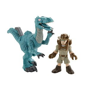Imaginext® Jurassic World™ Muldoon & Raptor