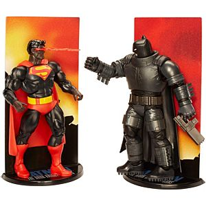 DC Comics™ Multiverse Batman™ The Dark Knight™ Returns Batman™ & Superman™ 2-Pack Figures