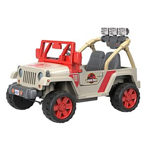 Power Wheels® Jurassic Park™ Jeep® Wrangler