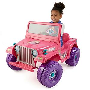Power Wheels® Barbie™ Jeep® Wrangler Ride-On Vehicle