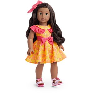Nanea's Luau Dress for 18-inch Dolls