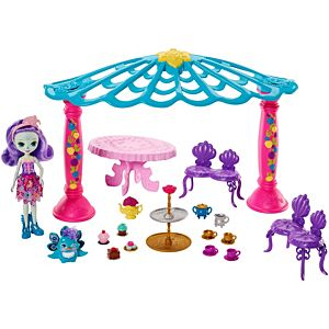 Enchantimals™ Garden Gazebo Playset + Patter Peacock Doll & Flap Figure
