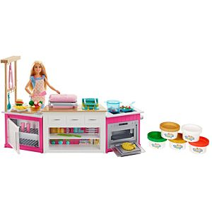 Barbie® Bakery Chef Doll and Playset with Accessories
