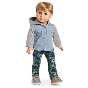Camo Cool Outfit for 18-inch Dolls