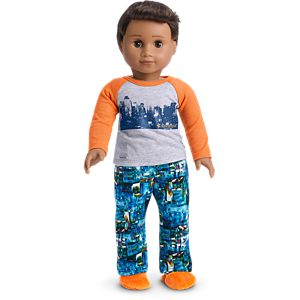 Building Dreams PJs for 18-inch Dolls